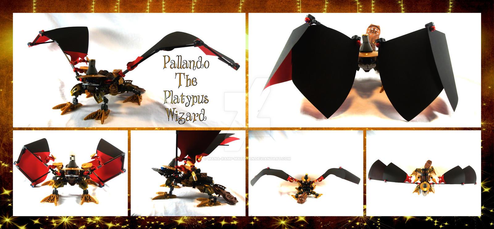 Bionicle MOC: Pallando The Platypus Wizard by 3rdeye88