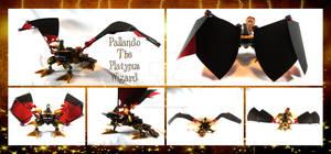 Bionicle MOC: Pallando The Platypus Wizard