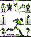 Bionicle MOC: 5pr1nt3r