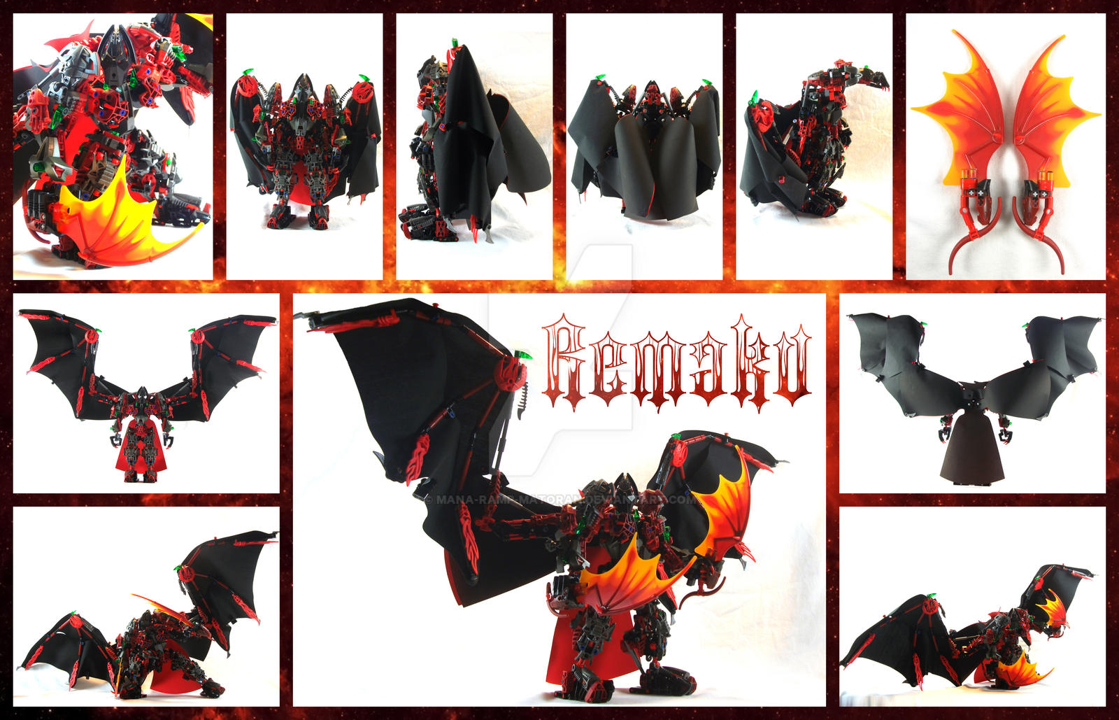 Bionicle MOC: Remaku V3 by 3rdeye88