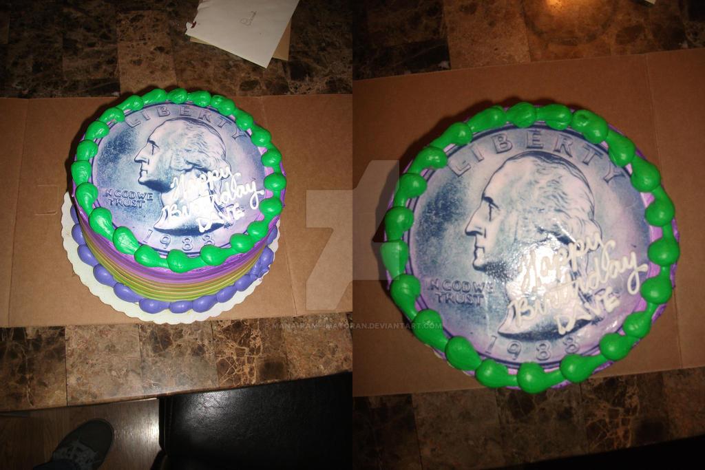 Quarter Birthday Cake By Mana Ramp Matoran On Deviantart
