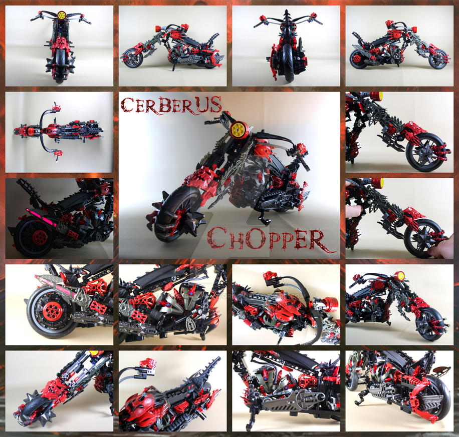 Bionicle MOC: Cerberus Chopper by 3rdeye88