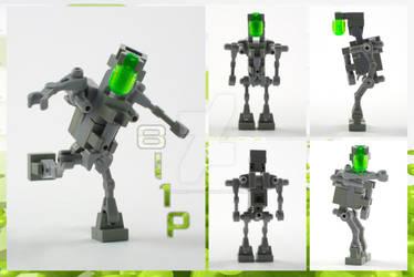 Lego MOC: Bl1p by Matteo-T-I-F