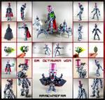 Bionicle MOC: Dr. Octavian Von Arachnefar