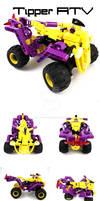 Bionicle MOC: Tipper ATV