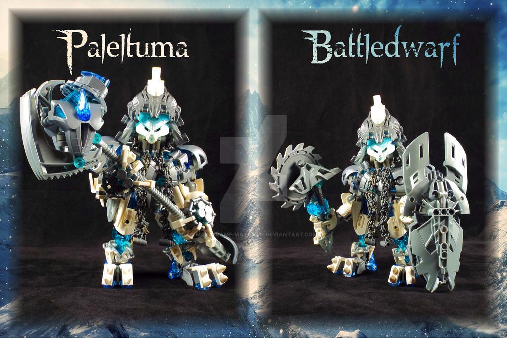 Bionicle MOC: Paleltuma Battledwarf by 3rdeye88
