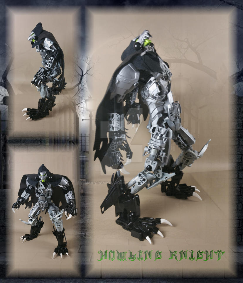 Bionicle MOC: Howling Knight by 3rdeye88