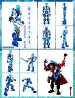 Bionicle MOC: Kalikiki(a Kaiba Gal character)
