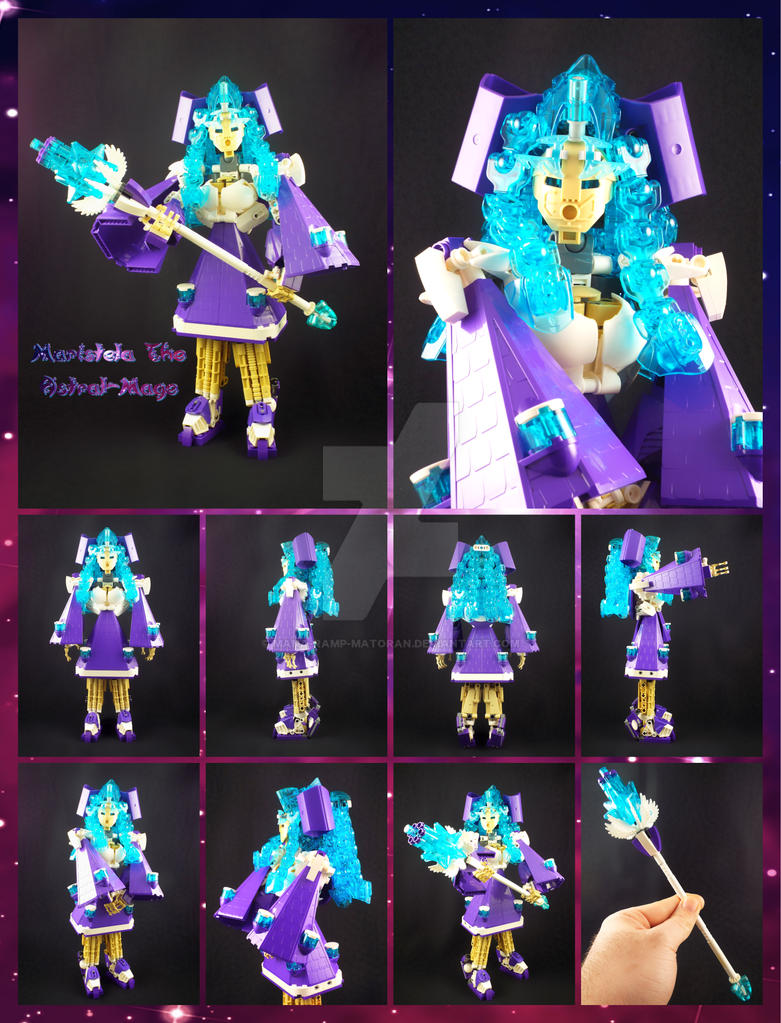 Bionicle MOC: Maristela The Astral-Mage. by 3rdeye88