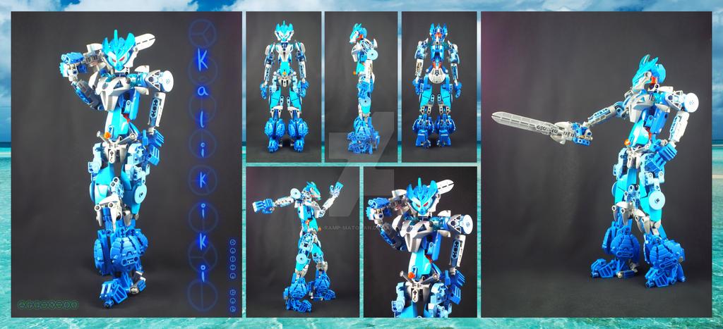 Bionicle MOC: Kalikiki 2.0(a Kaiba Gal character) by 3rdeye88