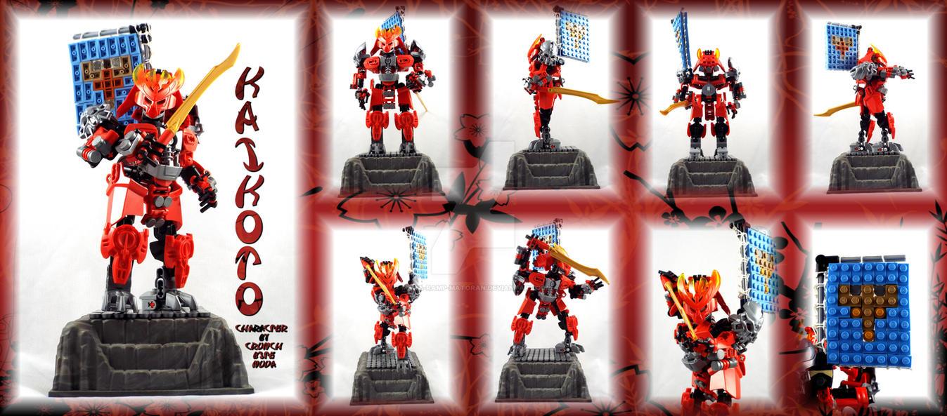 Bionicle MOC: Kaikoto(A Crunchbitenuva Character). by 3rdeye88
