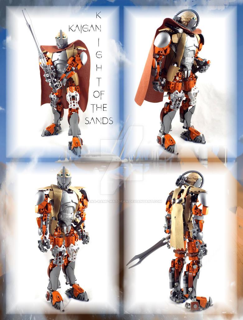 Kaigan, Knight of the Sands. by Mana-Ramp-Matoran