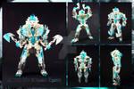 Bionicle MOC: Valtias, The Blizzard Tyrant
