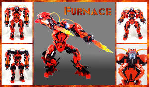 Bionicle MOC: Furnace 3.0 by Mana-Ramp-Matoran