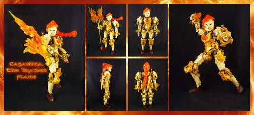 Bionicle MOC: Casandra the Braided Flame