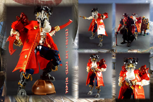 Bionicle MOC: Matteo The Great Entropy