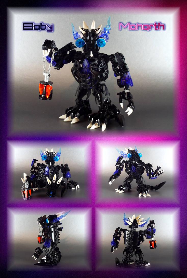 Bionicle MOC: Baby Monarth. by Mana-Ramp-Matoran
