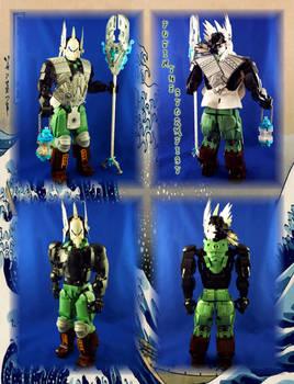 Bionicle MOC: Fujin, the Stormfist