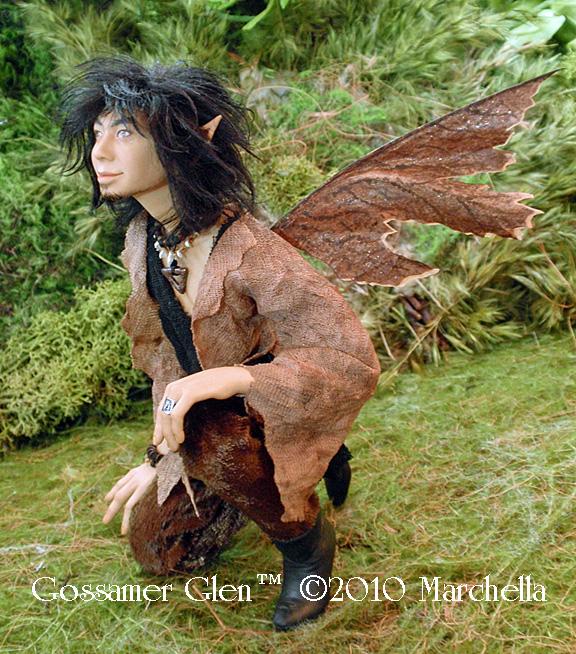 'Wyld' Elven Faerie - Full by GossamerGlen