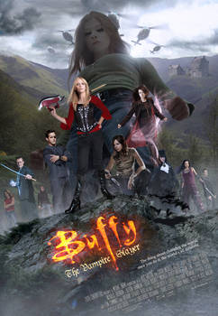 Buffy Movie- Theatrical Poster