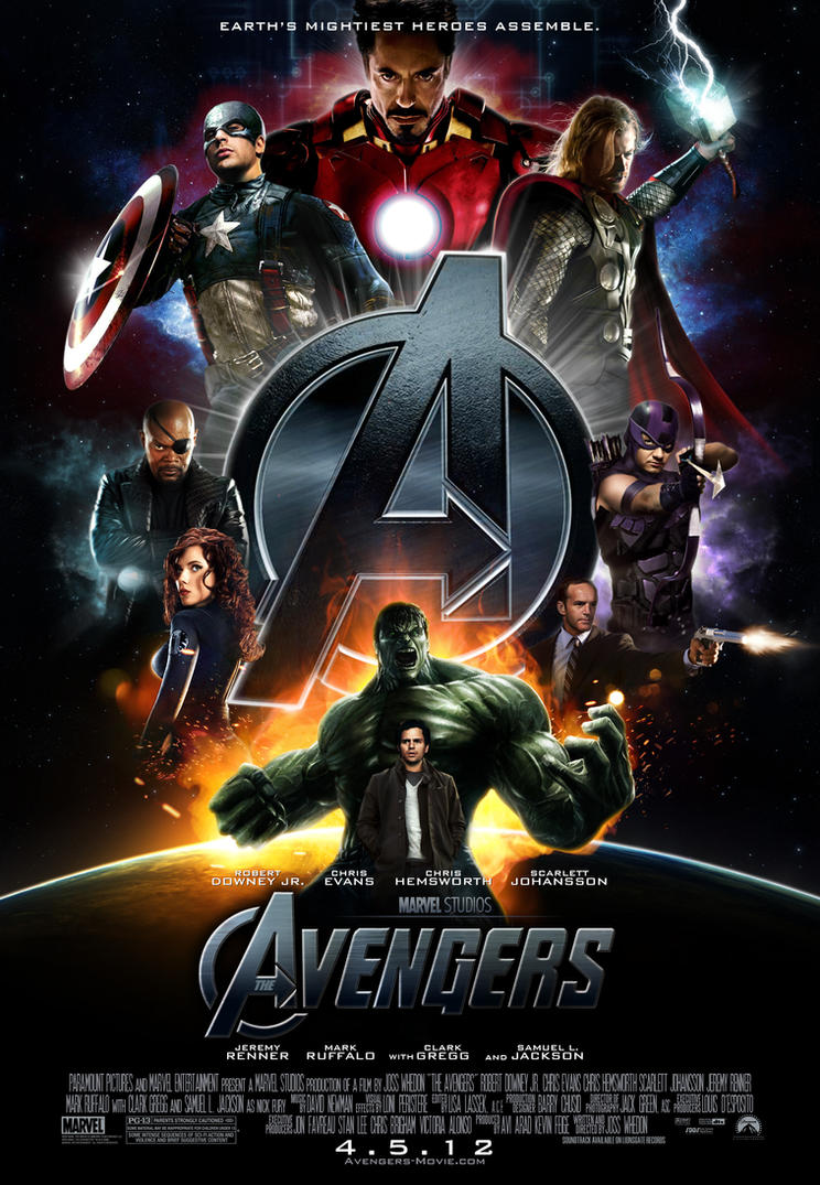 the avengers movie poster by themadbutcher on deviantart