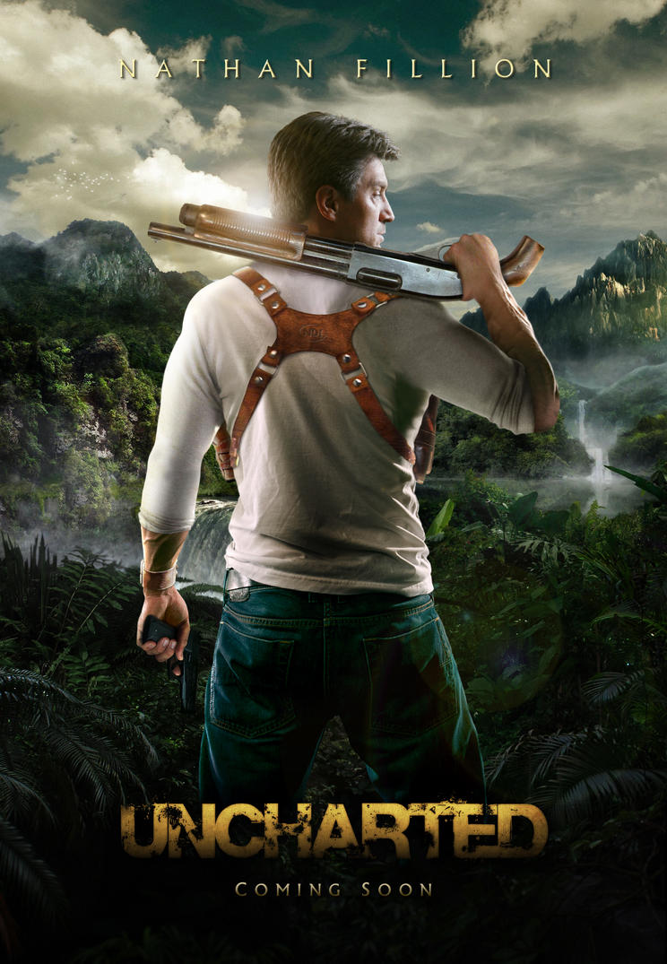 'Uncharted' Teaser Poster by themadbutcher