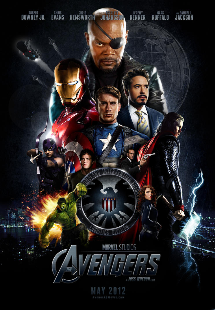 'The Avengers' Poster 2 by themadbutcher