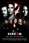 'Scre4m' Final Cast Poster by themadbutcher