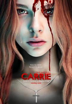 Chloe Moretz as Carrie - Remake Poster