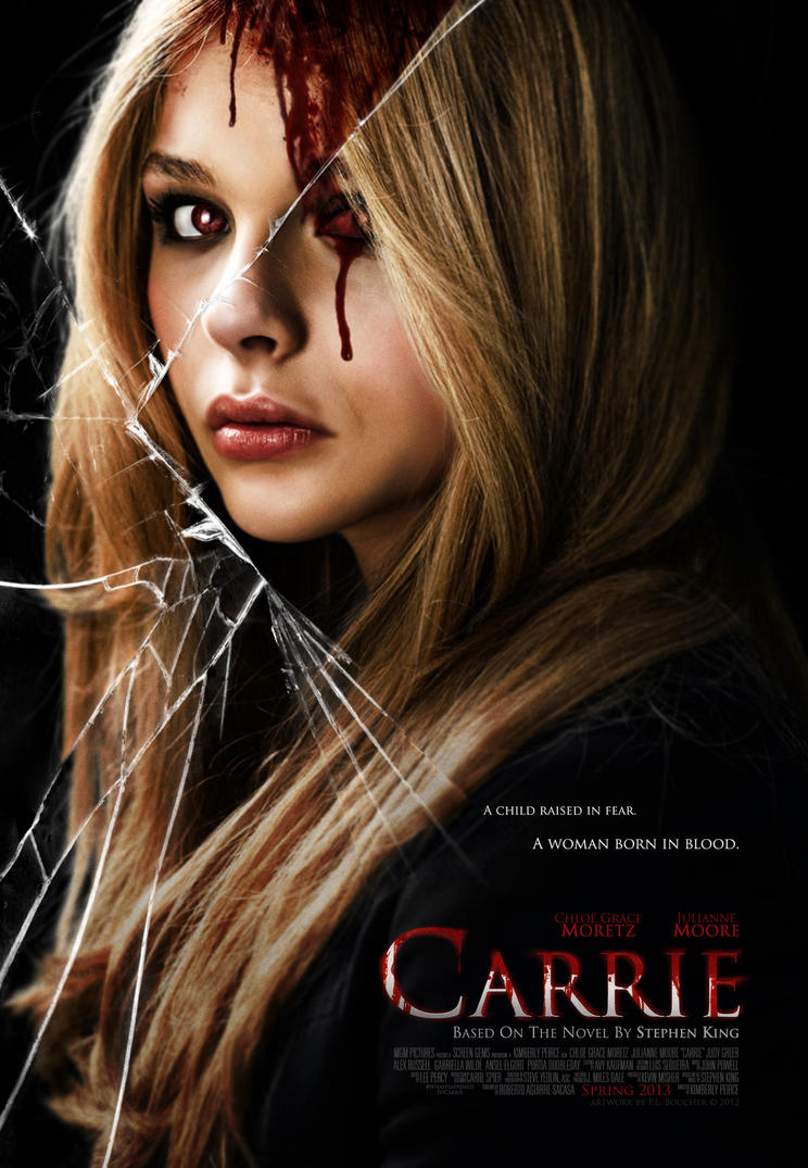 Chloe G. Moretz as Carrie - Final Remake Poster by themadbutcher