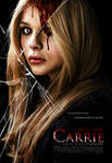 Chloe G. Moretz as Carrie - Final Remake Poster
