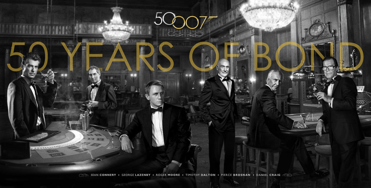 Bond 50 - 50 Years of Bond by themadbutcher