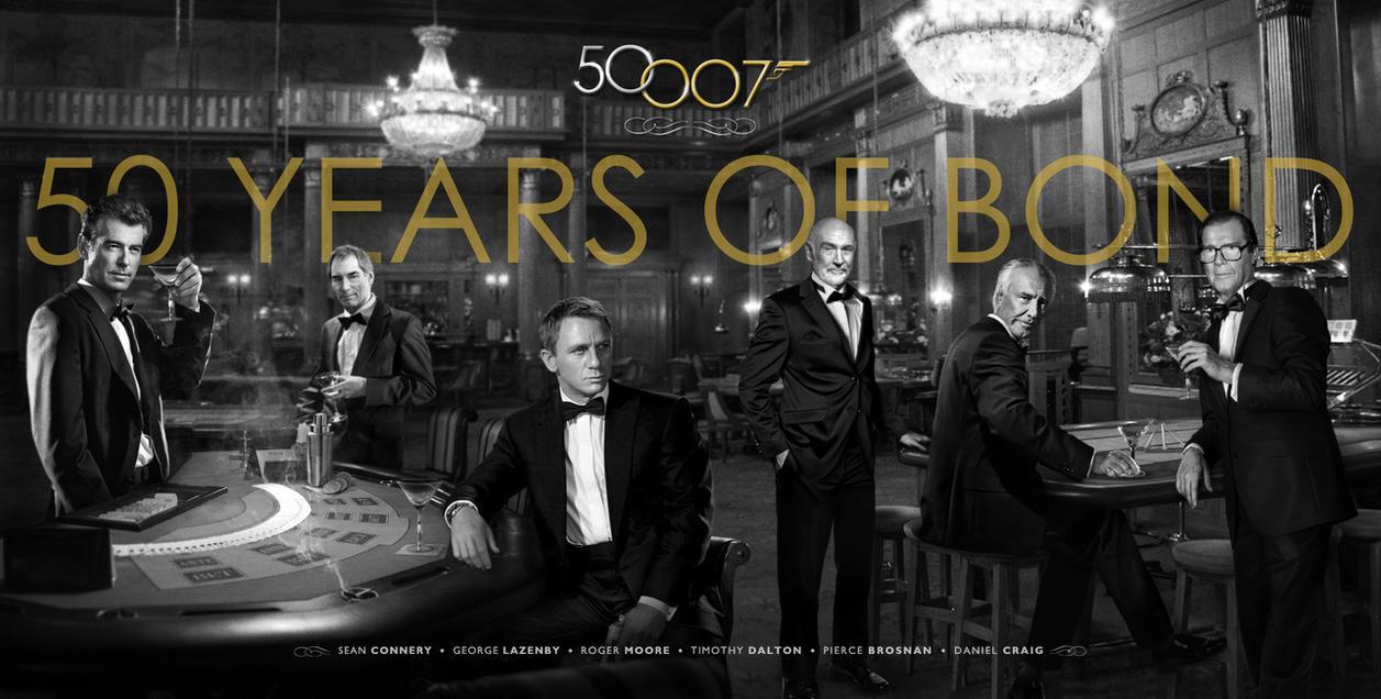 Bond 50 - 50 Years of Bond by themadbutcher