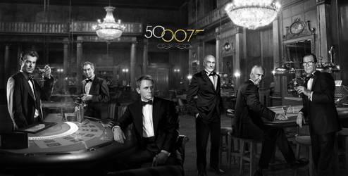 Bond 50 - 50 Years Of Bond - Light by themadbutcher