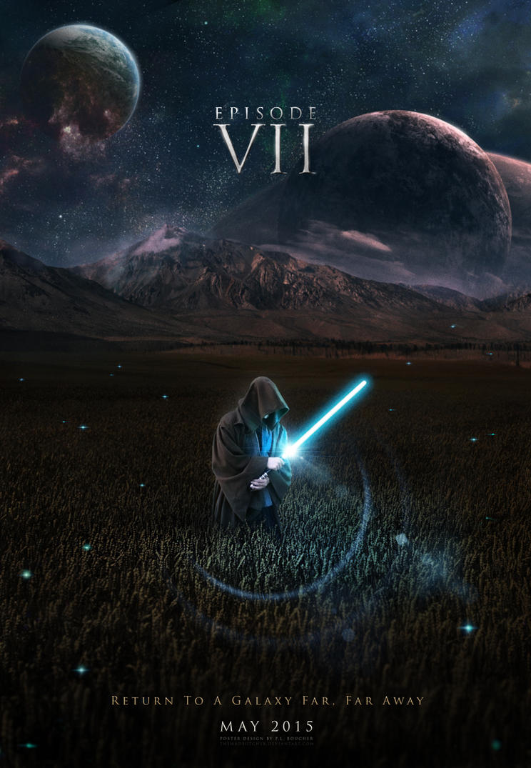 STAR WARS - THE FORCE AWAKENS Star_wars_episode_vii_teaser_by_themadbutcher-d5sdpq9