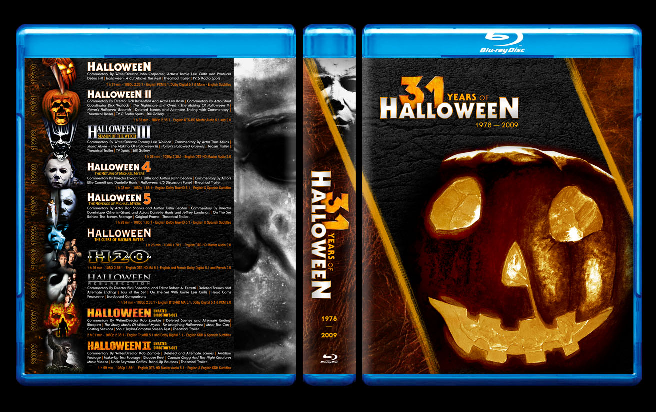 Halloween Complete Collection Blu Ray | Halloween The Complete Collection Blu Ray Box Set Announced Coming