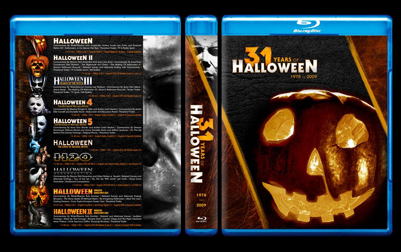 Halloween Dvd Box Set.Custom Cover Art Thread Page 670 Blu Ray Forum
