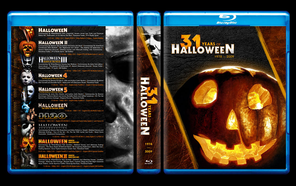 31 years of halloween blu-ray wip 2themadbutcher on deviantart