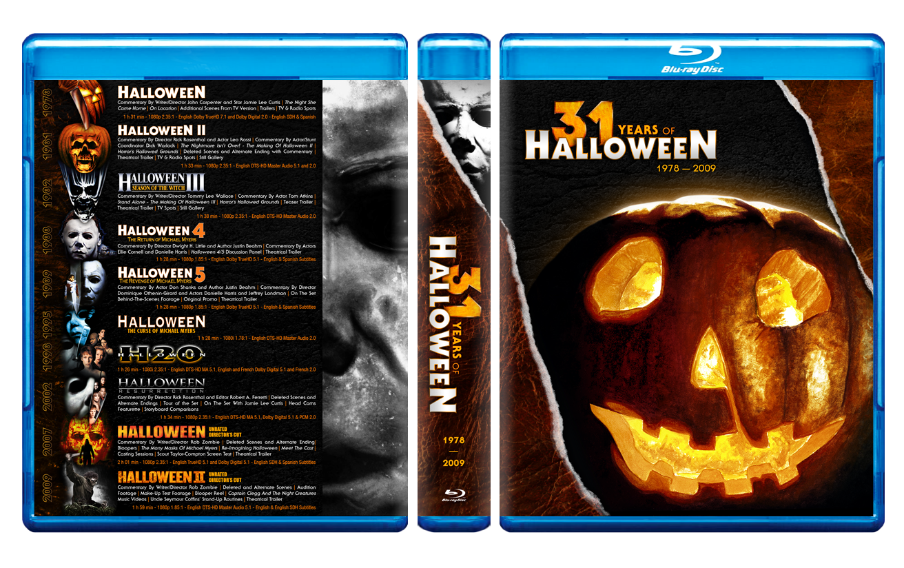 Halloween Blu Ray Box Set.Halloween The Complete Collection Blu Ray Box Set Page 58