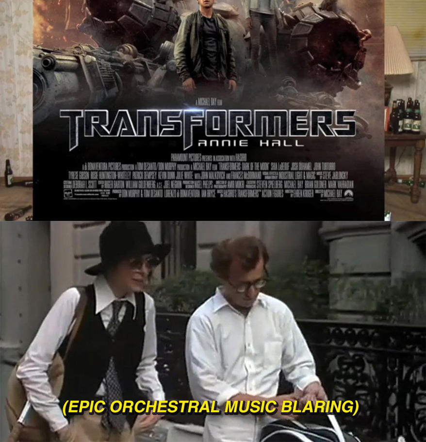 RLM Transformers 3 Annie Hall by themadbutcher