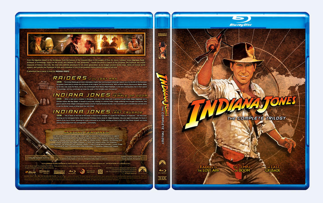 Indy Trilogy by themadbutcher
