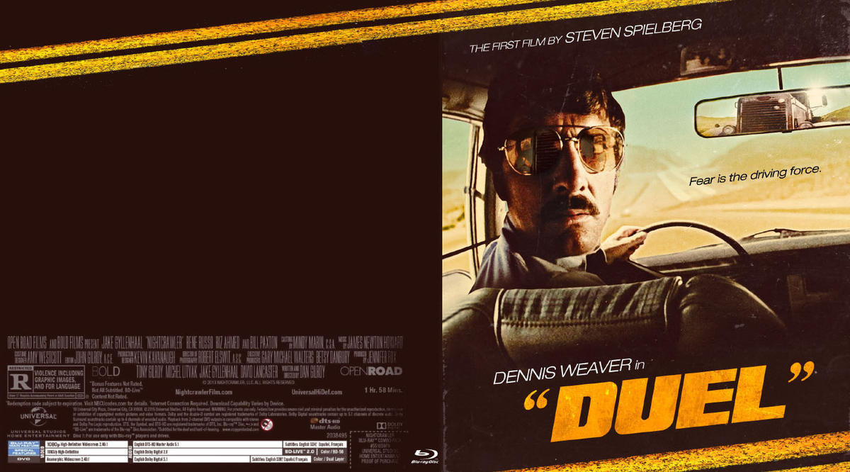 Duel Blu-ray Work in Progress by themadbutcher