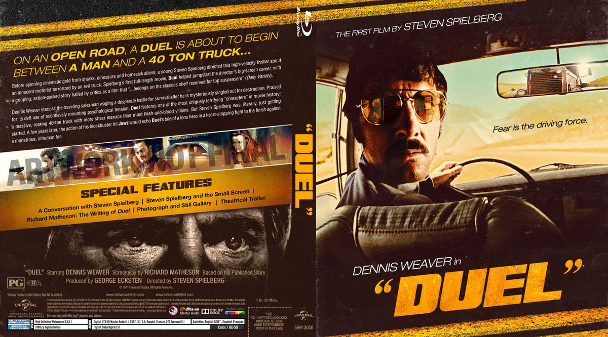 Duel 1971 Blu-ray previs by themadbutcher