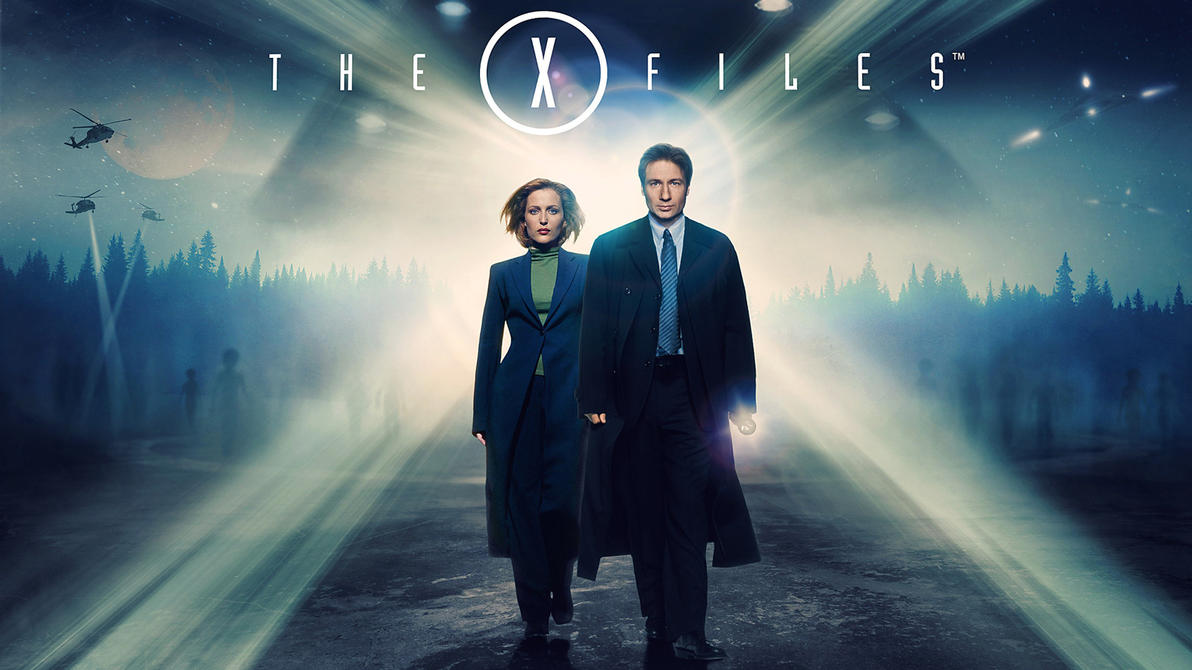 X-Files Blu-ray Background by themadbutcher