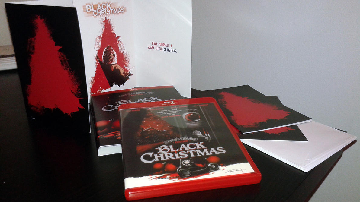 Black Christmas in Red Case by themadbutcher