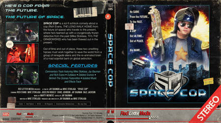 Space Cop Blu-ray Cover