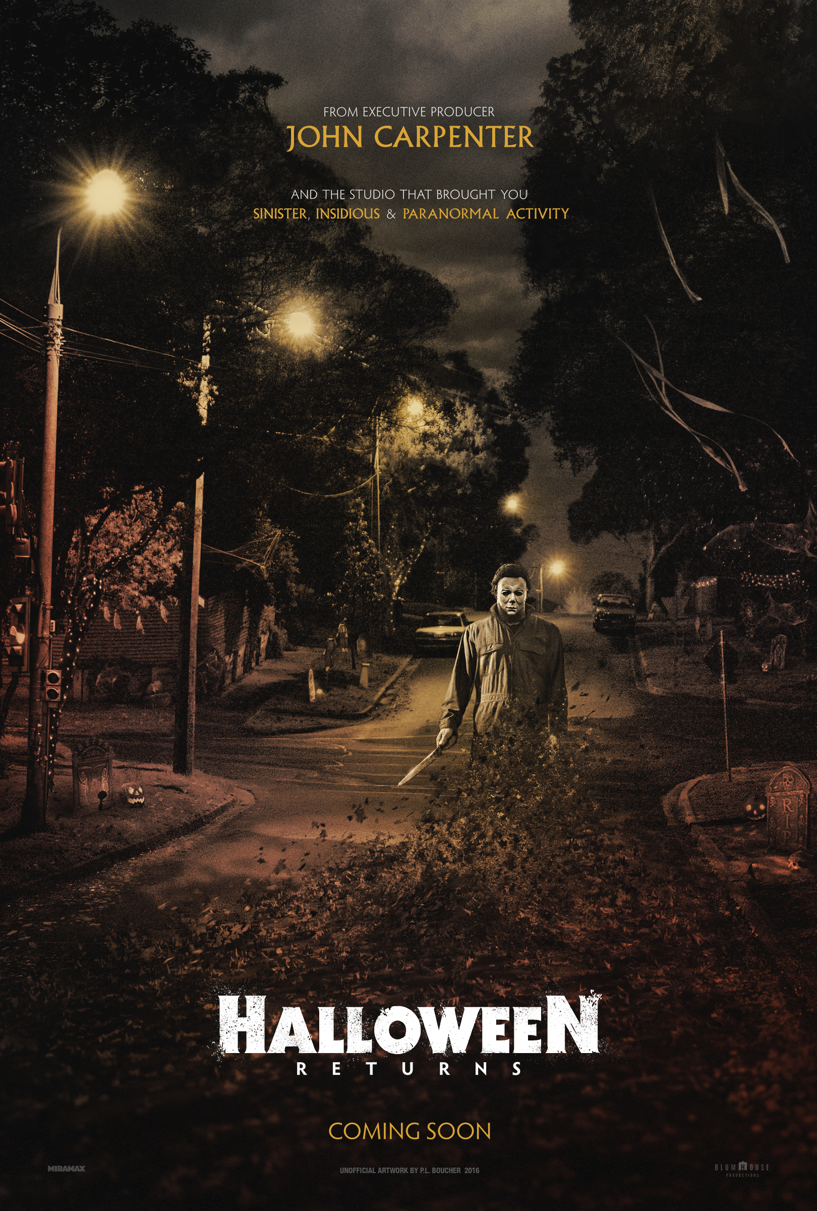 Halloween Returns - Poster 2