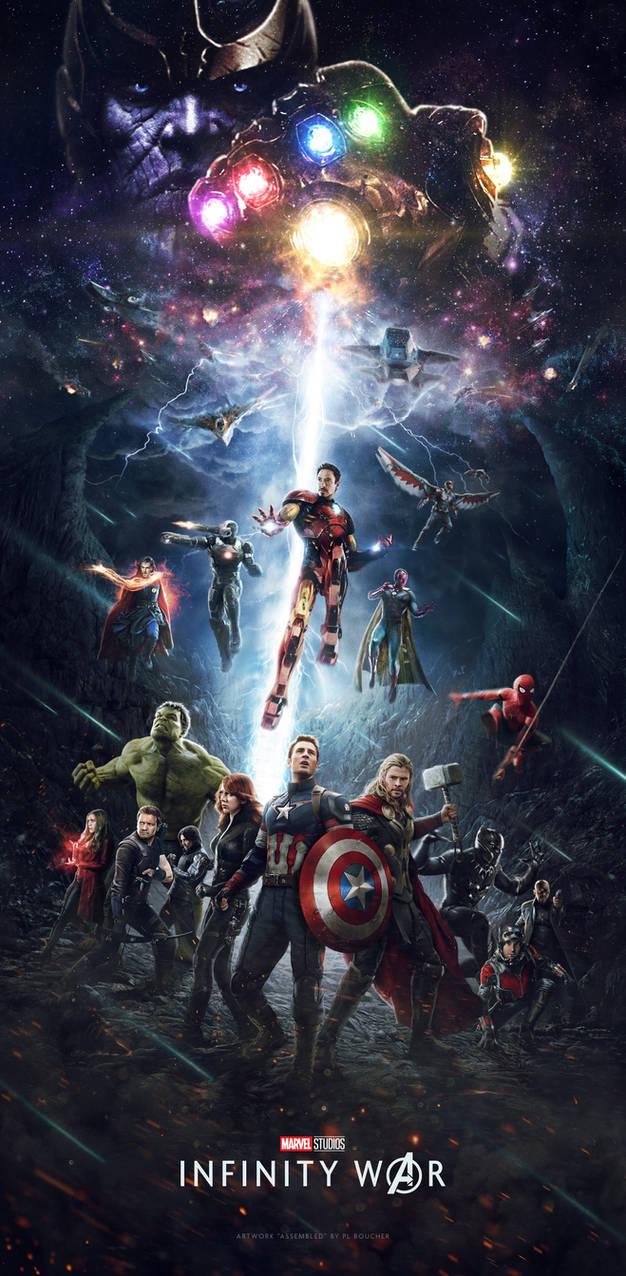 avengers infinity war posterthemadbutcher on deviantart