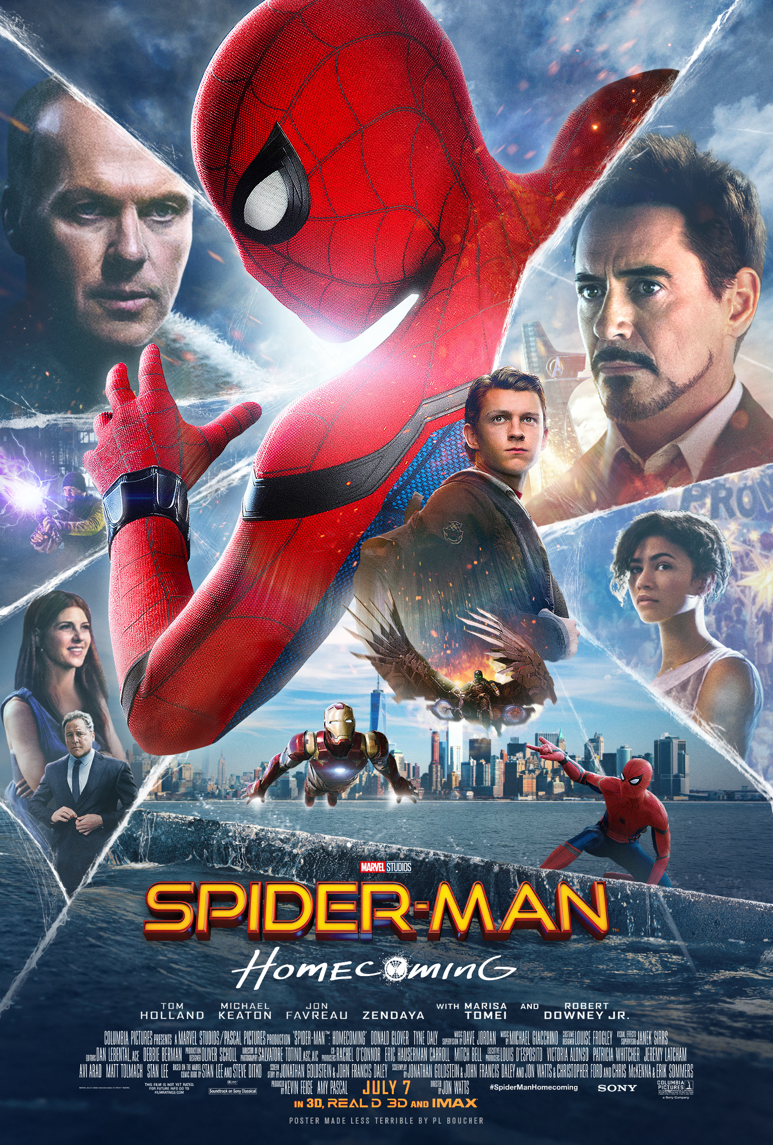 Image result for spider-man homecoming movie poster 2017