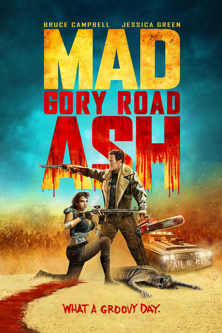 MAD ASH - Gory Road by themadbutcher